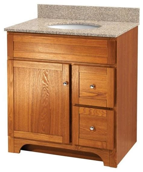 worthington 30 quot oak bathroom vanity country bathroom
