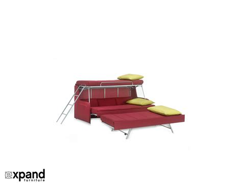 furniture bunk bed transforming sofa bunk bed expand furniture