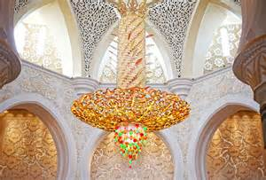 Chandeliers Crystals Travel Diary Sheikh Zayed Grand Mosque Camille Tries To