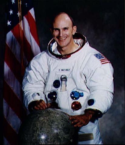 K Mattingly Ii by Astronaut Bio K Mattingly Ii Captain Usn