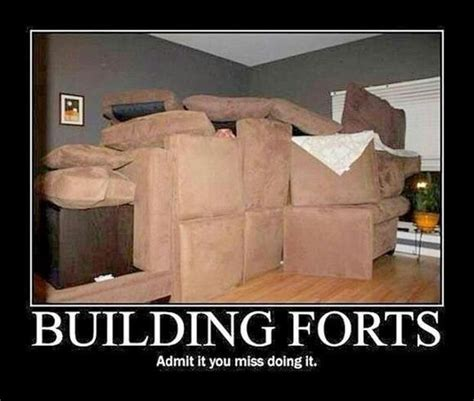 Blanket Fort Meme - pillow fort motivational posters and funny pictures
