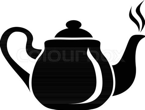 porcelain teapot icon simple stock vector colourbox