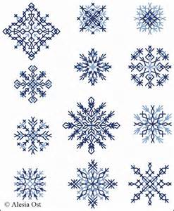 best photos of full page snowflake patterns printable