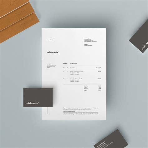 branding design invoice best 25 invoice design ideas on pinterest invoice