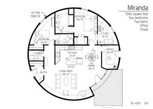 Dome Home Floor Plans Floor Plan Dl 4505 Monolithic Dome Institute