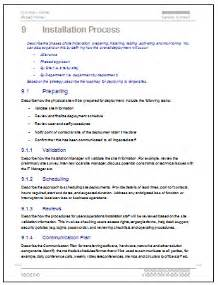Software Deployment Document Template by Deployment Plan Templates 3 X Ms Word