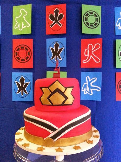 Power Rangers Decorations by Kara S Ideas Power Rangers Samurai Birthday