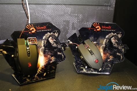 Mouse Bloody Terbaru computex 2015 booth raid bloody jagat review