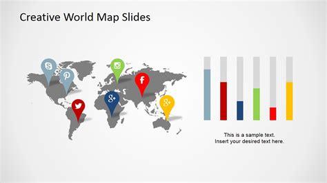 creative world map   powerpoint slidemodel