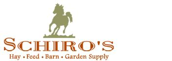 schiro's hay and feed, barn and garden supply florida