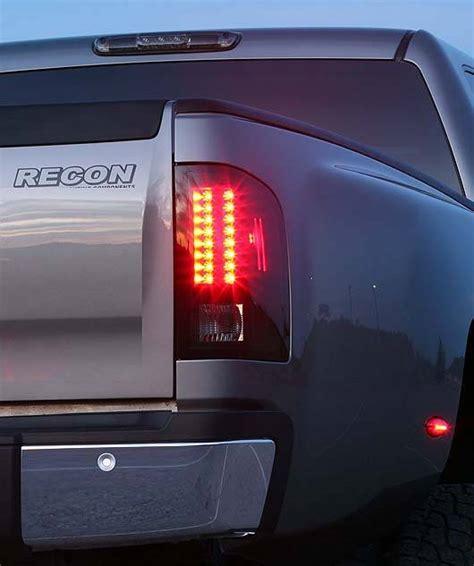 recon lights chevy silverado chevrolet silverado 2007 14 recon smoked headlights w