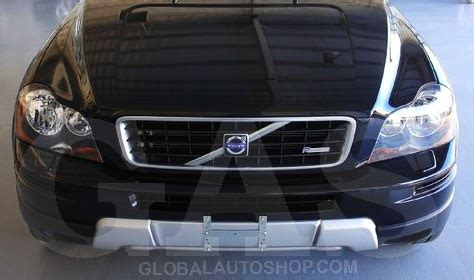 volvo xc chrome grill custom grille grill inserts chrome grille
