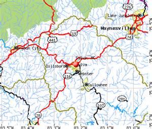 sylva carolina map sylva carolina nc 28779 profile population maps