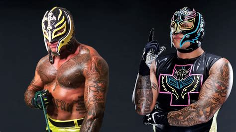 rey mysterio back tattoo tattoos