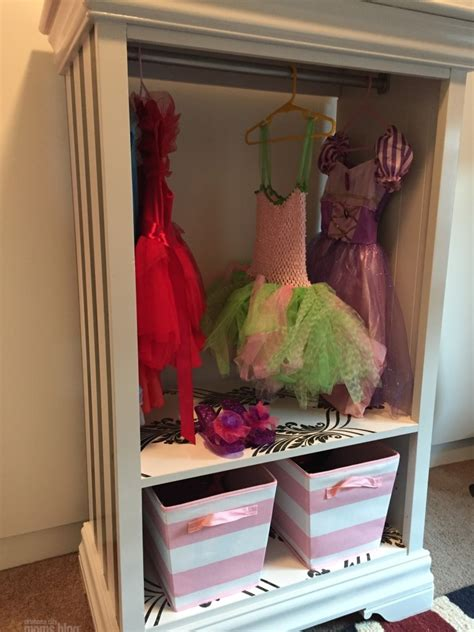 girls dress up armoire diy dress up armoire