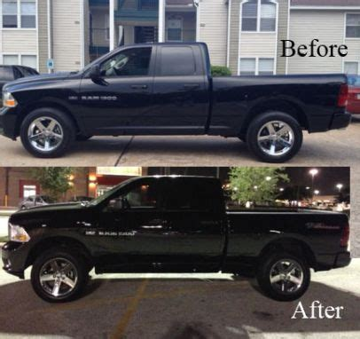 2009 dodge ram 1500 4x4 with 2 1/2 '' front leveling kit
