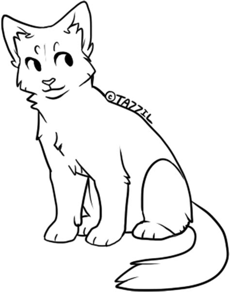 cat adoptables line art chibi cat lines free to use by zillastar adoptables on