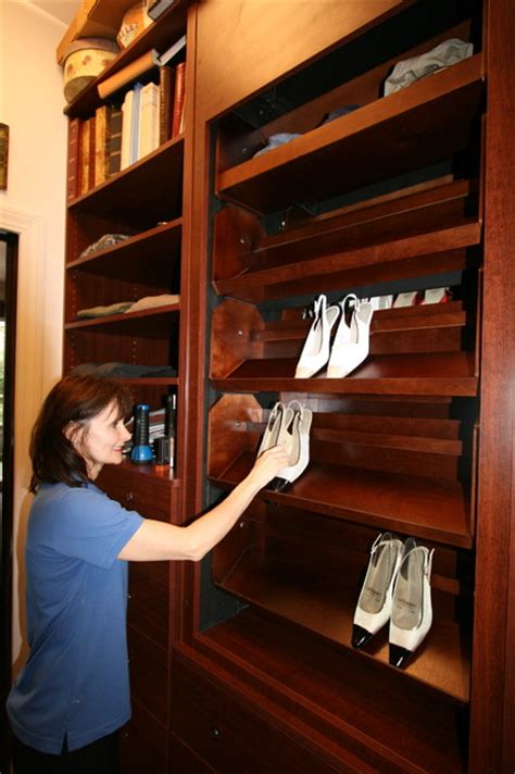 Closet Carousel by Motorized Shoe Carousel From Storagemotion Inc