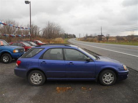 subaru 2004 wagon 2004 subaru impreza 2 5 ts sport wagon subaru colors