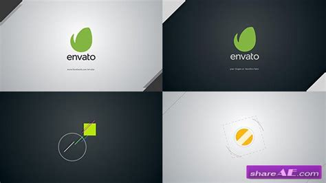 Dynamic Logo Intro After Effects Project Videohive 187 Free After Effects Templates After After Effects Intro Templates Free Cc