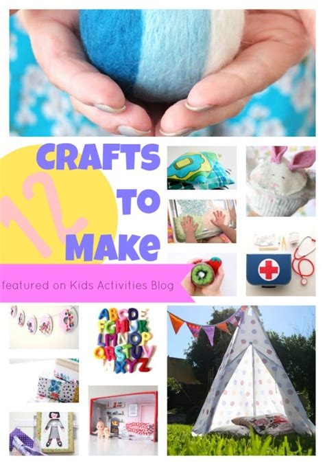 crafts at home for 12 crafts to make at home