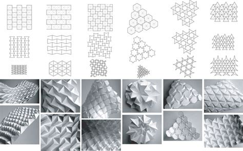 Paper Folding Templates - deployable transformable structures today and tomorrow