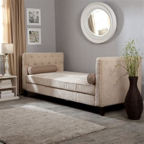 daybeds and chaises melrose daybed taupe contemporary indoor chaise
