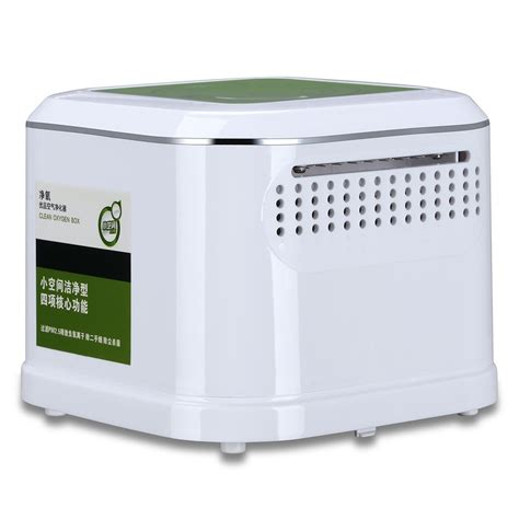 shipping factory price mini bedroom air care boxair purifier  air cleaning