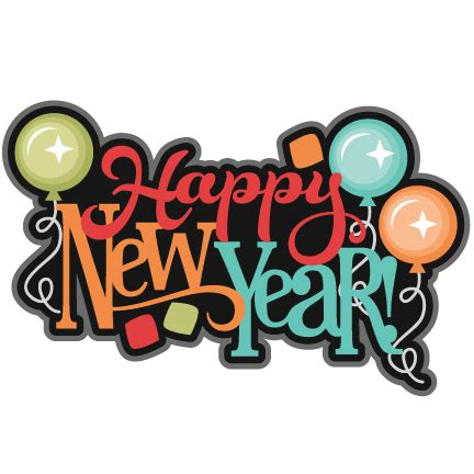 new year png happy new year balloons colourful transparent png stickpng