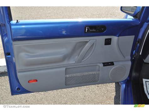 2001 Vw Beetle Door Panels by 2001 Volkswagen New Beetle Gls Coupe Light Grey Door Panel