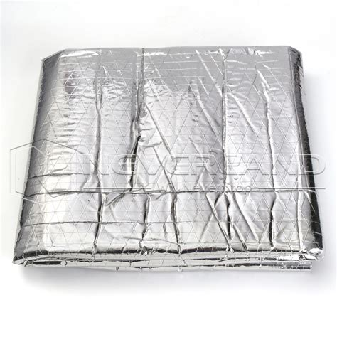 Auto Insulation Mat by Heat Sound Shield Foil Insulation Blanket Mat Pad For Car