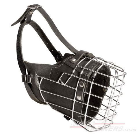 basket muzzle basket muzzle for working dogs