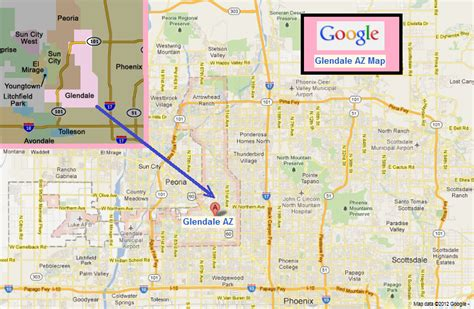 map of glendale arizona glendale az plumbers locksmith garage door repair