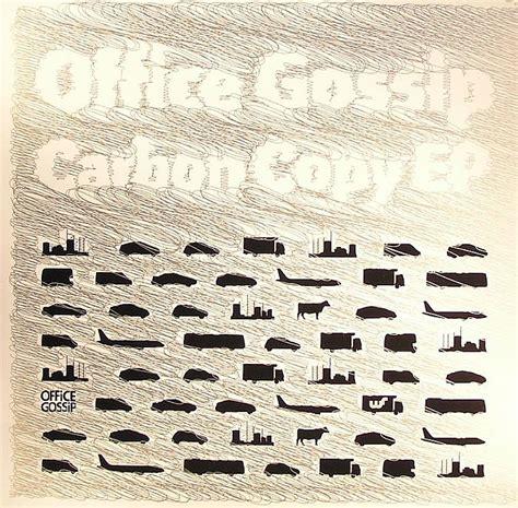office gossip carbon copy office gossip carbon copy ep vinyl at juno records