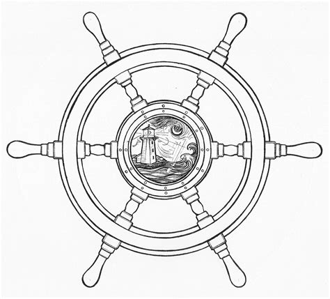 how to draw a boat steering wheel 1000 ideas about ship wheel on pinterest