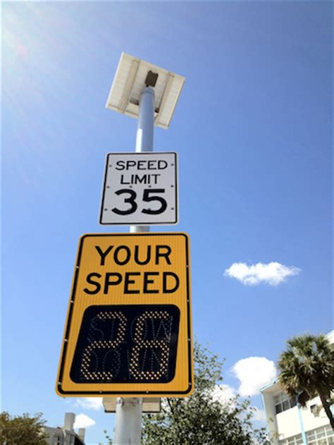 your speed radar speed signs solar powered