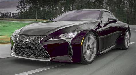 lexus 2017 lc500 2017 lexus lc500 colors visualizer black chrome looks