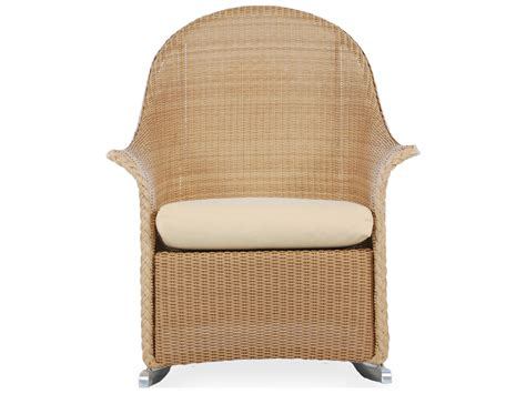 armchair cushion lloyd flanders wicker cushion arm rocker lounge chair 5236