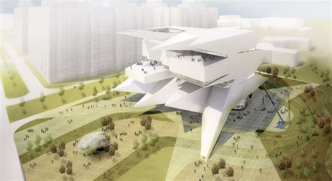 museum design proposal moscow polytechnic museum education center proposal