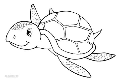 Coloring Page Sea Turtle by Sea Turtle Coloring Pages Kidsuki
