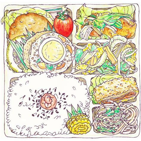 Summer Sketches 82 by お弁当 イラスト のおすすめアイデア 25 件以上 お弁当 5月 お弁当 絵 崎陽軒 弁当
