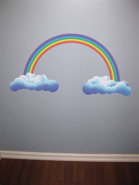 wall stickers rainbow rainbow wall stickers for the room