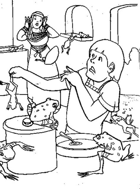 plague of frogs coloring page 10 plagues of egypt coloring pages coloring home