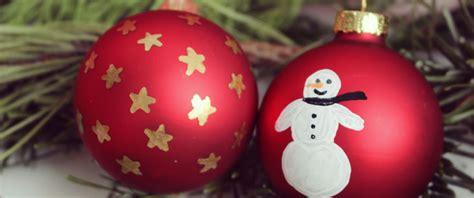 Christbaumkugeln Selbst Bemalen by Weihnachtskugeln Bemalen Mydays Magazin