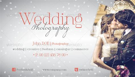 wedding photography business cards templates wedding photography business card template by grafilker