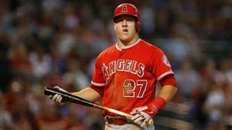 is mike trout getting more fastballs he says yes numbers
