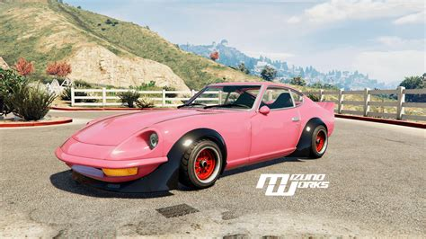 nissan 240z mizuno works 1971 nissan 240z replace gta5 mods com
