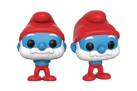 Funko Pop Original The Smurfs Astro Smurf may178736 pop smurfs papa smurf vinyl figure previews