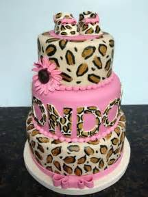 leopard print baby shower cakes leopard print baby shower cake baby birthday shower