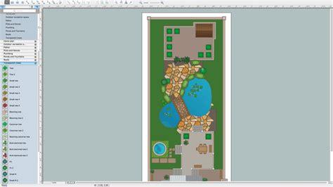 draw landscape plan how to draw a landscape design plan